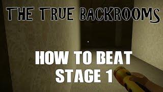 Come battere la fase 1! Le vere stanze a posteriori (Roblox)