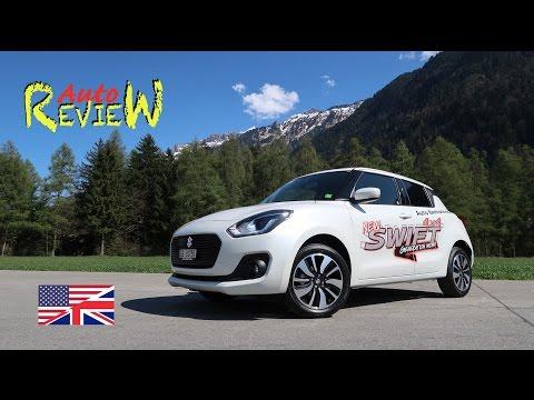 2017 Suzuki Swift 1.2 Compact Top Hybrid Allgrip 4x4 | Auto Review | Switzerland | Episode 72 [ENG]