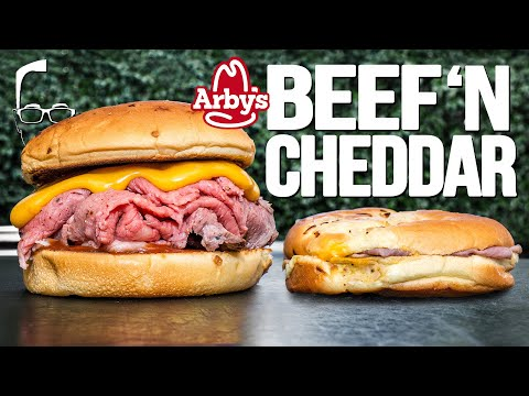 THE ARBY'S BEEF 'N CHEDDAR…BUT HOMEMADE & WAY BETTER! | SAM THE COOKING GUY