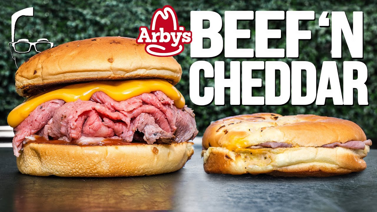 THE ARBY'S BEEF 'N CHEDDAR...BUT HOMEMADE & WAY BETTER! | SAM THE COOKING GUY