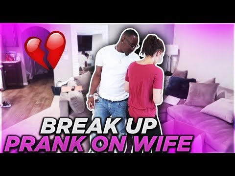 I BR0KE UP WITH DAMIEN (prank!!)