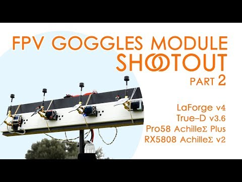 FPV Diversity Module Shootout 2: LaForge v4 VS TrueD v3.6 VS