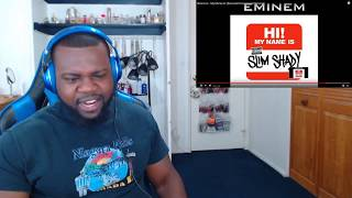 Eminem - My Name Is (Banned Uncensored Version) Reaction