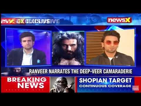 Ranveer Singh interview with NewsX   Padmaavat