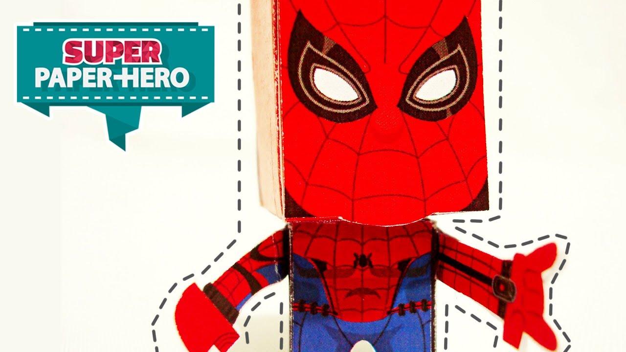 Papercraft ¿Como armar un papercraft? | Spider Man & Daredevil
