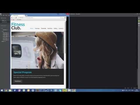 Fitness Website Speed Coding