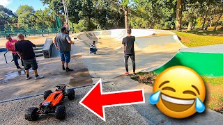 We let a granny drive our Traxxas Backslash?🤣ft ARRMA Talion Traxxas XMaxx & Slash Ultimate