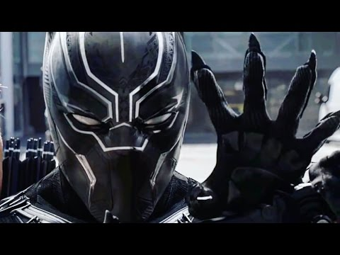 Black Panther Fight Scenes - Captain America Civil War HD