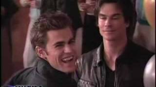 Backstage on Set of The Vampire Diaries thumbnail