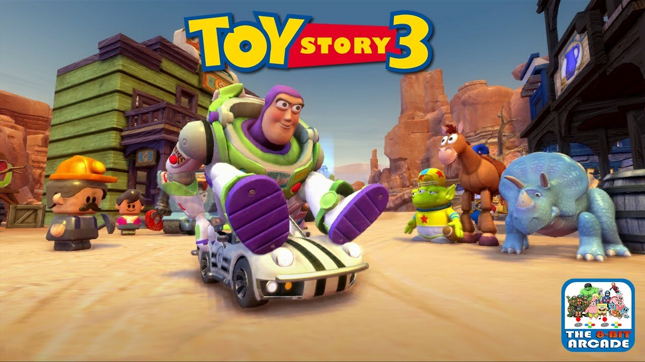 All Toy Story 3 Games : Toy story the video game buzz goes to box and