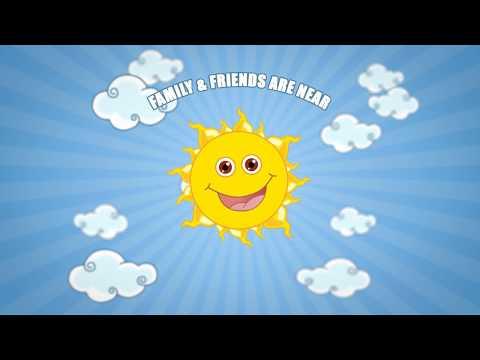 Birthday Party Invitation Video   Whatsapp Animated Invite   Sunshine Photo Theme  