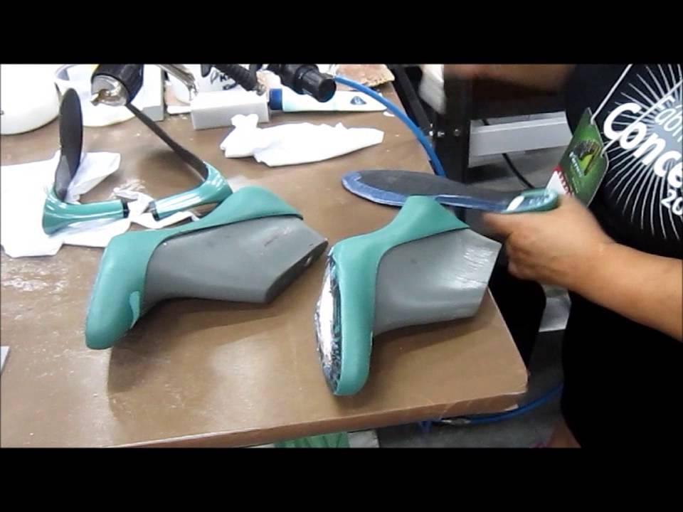 c00d4d70d Fabricação de Sapato Feminino na Fábrica Conceito - YouTube