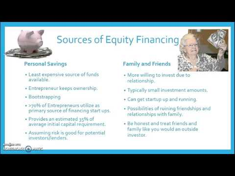 Sources of Equity Capital