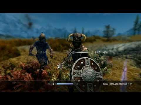 Sibi in Skyrim Ep 15: Dovahkiin Dead Again