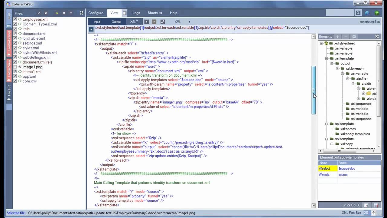 Atractivo Plantilla Recursiva Xslt Ilustración - Ejemplo De ...