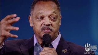 Reverend Jesse Jackson offers words of advice for young people