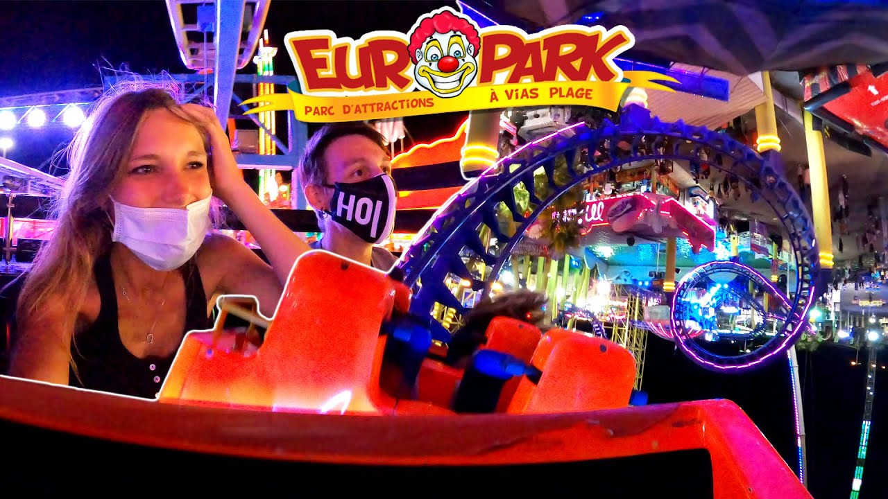 EUROPARK [VLOG] : Un parc d'attraction de forain !