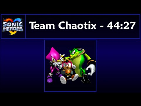 Видео Sonic heroes game cheats