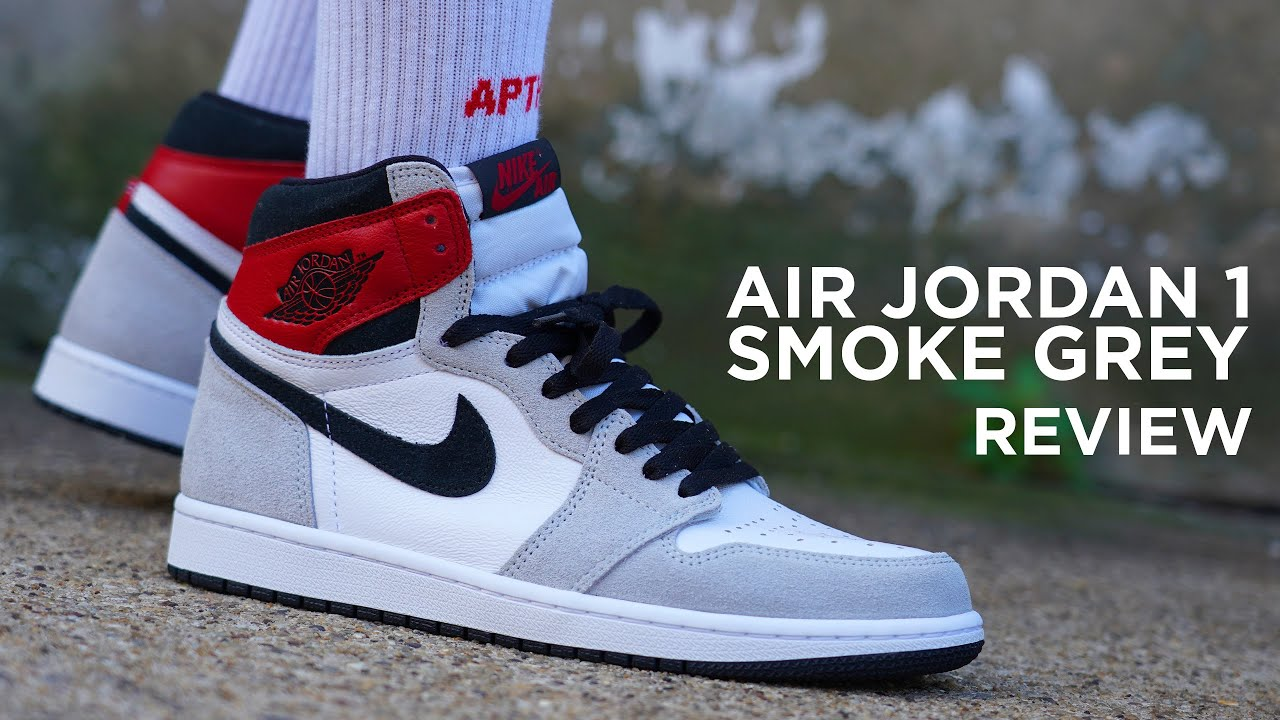 Air Jordan 1 Smoke Grey Review Giveaway Youtube