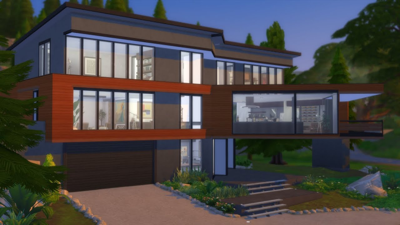 The Cullen House By Juani Hoke House The Sims 4 Youtube