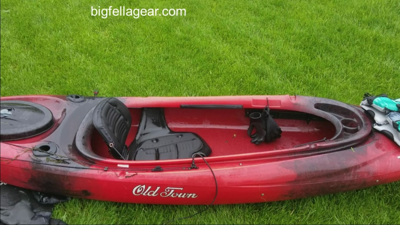 Old Town Vapor 10xt Angler Kayak Weight Test and Review