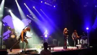 Luxuslärm - Regen der nach oben fällt - live - Bochum - 29.03.2014