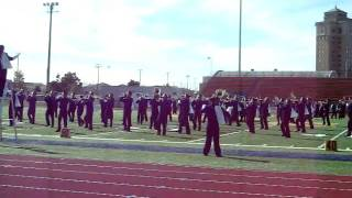 lhs marching band my girl bc invitationals 09