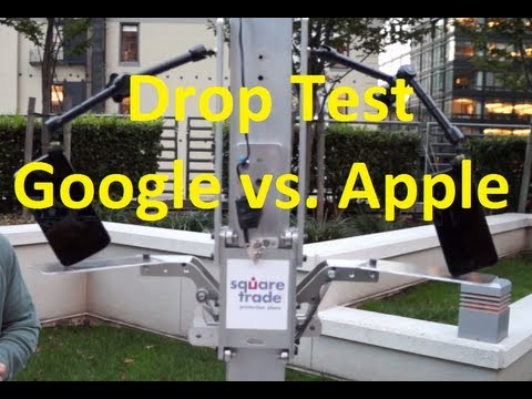 SquareTrade's Apple vs. Google Breakability Tests