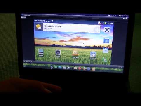 """Motorola Atrix 4G Laptop Dock Lapdock Review (11""""):"""