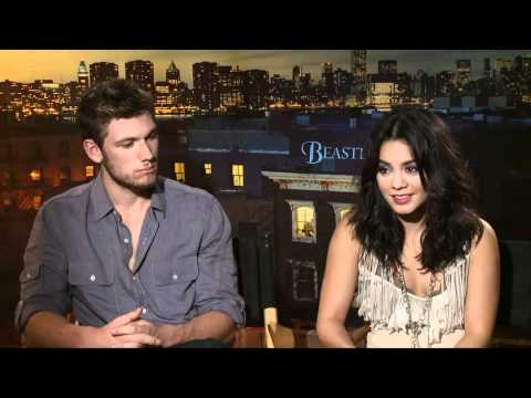 Alex Pettyfer & Vanessa Hudgens Beastly Press Junket
