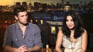 Alex Pettyfer & Vanessa Hudgens Beastly Press Junket Interview