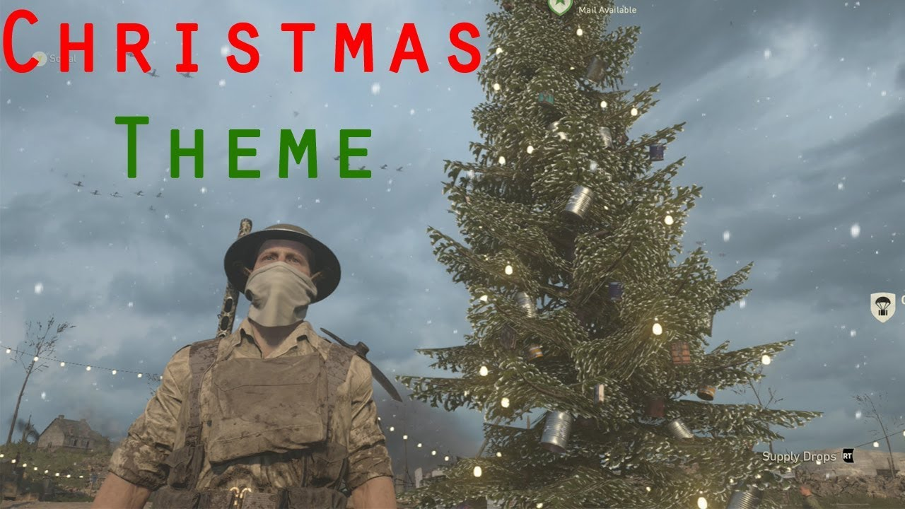 call of duty ww2 headquarters christmas decorations 2017