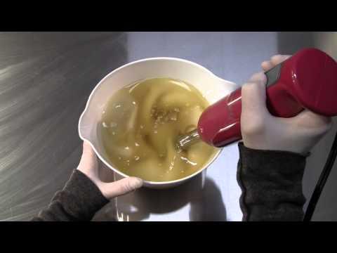 A Very Basic Bar  - Soap Making