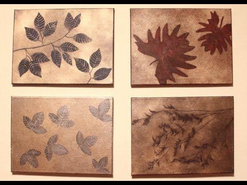 Serie de cuadros muy f ciles regalos perfectos diy - Como hacer cuadros faciles en casa ...