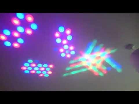 Lex Lighting DJ Trilex Light DMX RGB LED Scanner - In Light