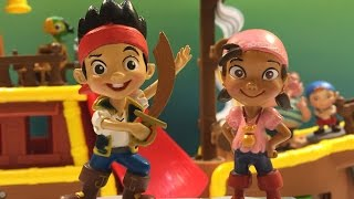 jake and the never land pirates 7 figurine playset izzy cubby captain hook tick tock croc smee