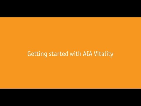 Getting Started With AIA Vitality