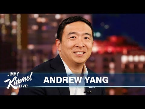 Andrew Yang on Robots, Campaign Slogans & Giving Everyone $1,000
