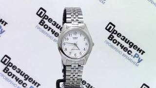 Часы Casio MTP-1129A-7B [MTP-1129A-7BEF] - Круговой обзор от PresidentWatches.Ru