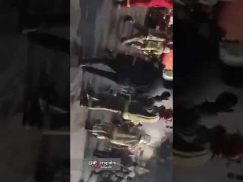 Plasco collapse caught on camera tehran iran