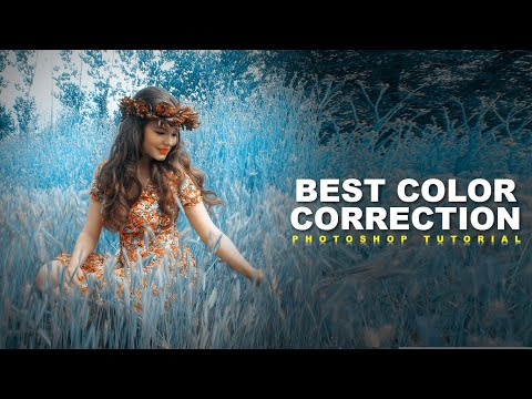 How to color correction in Photoshop, Color correction tutorial, color correction in Photoshop thumbnail