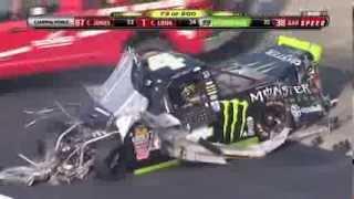 2011 Ricky Carmichael HARD CRASH NASCAR CWTS at the Lucas Oil 200 in Dover DE.