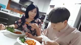 46탄: 엄마한테 파스타 해달라 하고 맛없게 먹기