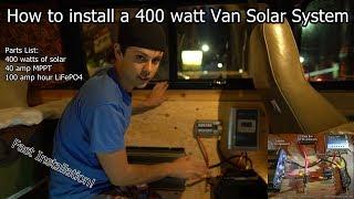van-life-400-watt-solar-power-system-fast-installation