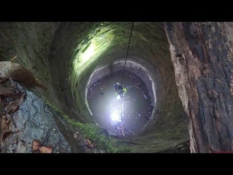 Creepy Well Explored With Remote GoPro Cameras
