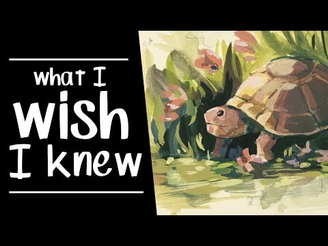 5 Things I Wish I Knew as a Beginner Artist