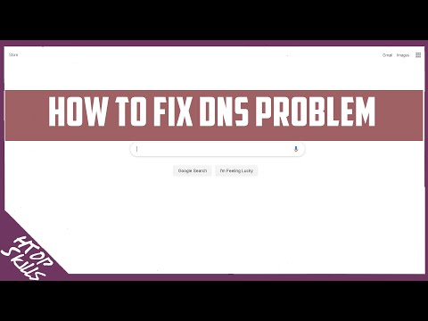 How to fix dns problem pc / how to fix dns server not responding