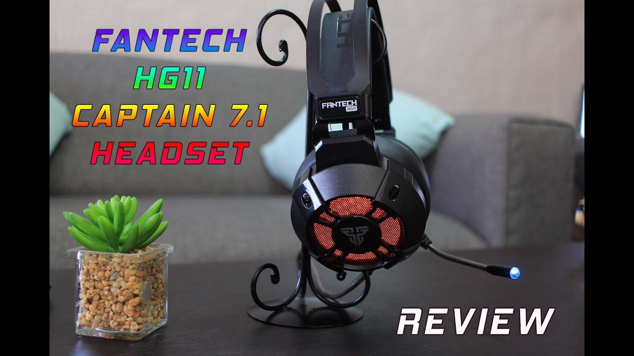 Fantech HG11 Captain 7.1 Review