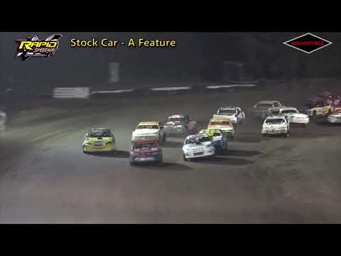 Stock Car Feature - Rapid Speedway - 8/3/18