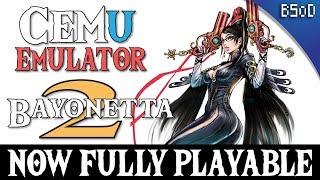 Cemu 1.9.1 | Bayonetta 2 Fully Playable | Wii U Emulator Video